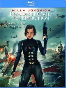 Resident Evil Retribution on Blu-Ray