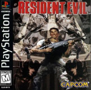 Resident Evil 1 for Playstation from 1996