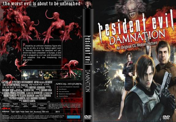 Resident Evil Damnation 2nd Cgi Movie From 2012